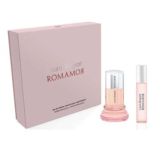 Laura Biagiotti Romamor SET (Eau de Toilette 25ml + Purse Spray 10ml), 1 Set