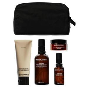 Grown Alchemist Sets & Kits Detox-Set (Deep Cleansing Facial Masque 75ml + Detox Toner 100ml + Detox Serum 30ml + Detox Bath Salt 50g + Kosmetiktasche), 1 Set