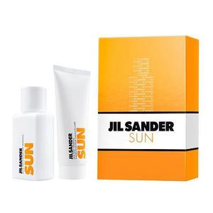 Jil Sander Sun Woman SET (Eau de Toilette 75 ml + Shower Gel 75 ml), 1 Set