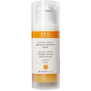 REN Radiance Skincare Glycolatic Radiance Renewal Mask, 50 ml