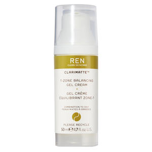 REN Clarimatte T-Zone Balancing Gel Cream, 50 ml