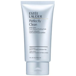 Estée Lauder Perfectly Clean Multi-Action-Foam Cleanser/Purifying Mask, 150 ml