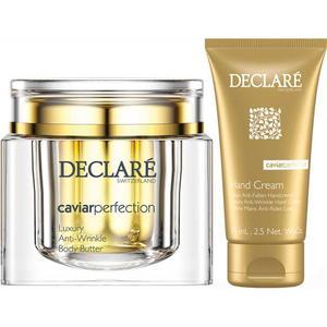 Declaré Caviar Perfection Body SET (Luxury Anti-Wrinkle Body Butter 200ml + Luxury Anti-Wrinkle Hand Cream 75ml), 1 Set