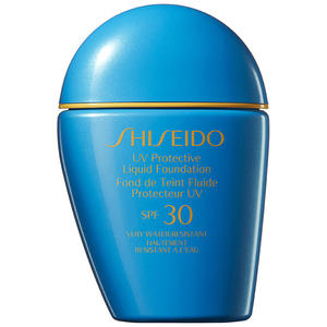 Shiseido Sun MakeUp UV Protective Liquid Foundation SPF 30, Medium Beige, 30 ml