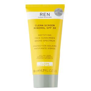 REN Clean Screen Mattifying Sunscreen SPF30, 50 ml