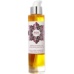 REN Moroccan Rose Otto Ultra-Moisture Body Oil, 100 ml