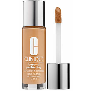 Clinique Beyond Perfecting Foundation & Concealer, CN 58 Honey, 30 ml