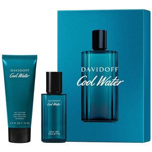 Davidoff Cool Water SET (Eau de Toilette 40 ml + Shower Gel 75 ml), 1 Set (+GRATIS Body Lotion Originalgröße 150 ml)