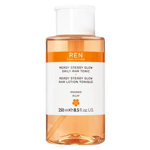 REN Radiance Skincare Ready Steady Glow Daily AHA Tonic, 250 ml