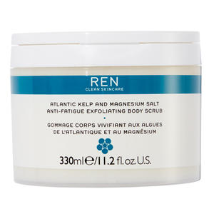 REN Atlantic Kelp & Magnesium Salt Anti-Fatique Exfoliating Body Scrub, 330 ml