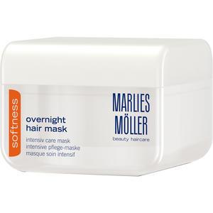 Marlies Möller Softness Overnight Hair Mask, 125 ml (+GRATIS Boost Styling Spray 30 ml)
