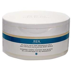 REN Atlantic Kelp & Magnesium Salt Anti-Fatique Exfoliating Body Scrub, 150 ml