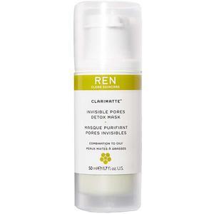 REN Clarimatte Invisible Pores Detox Mask, 50 ml