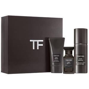 Tom Ford Oud Wood SET (Eau de Parfum 50ml + All over Body Spray 150ml + Shower Gel 75ml), 1 Set