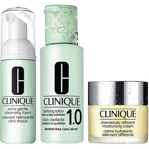 Clinique 3-Schritte Pflegesystem Extra Gentle Intro Kit, 175 ml