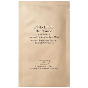 Shiseido Benefiance Pure Retinol Intensive Revitalizing Face Mask, 4 Stk.