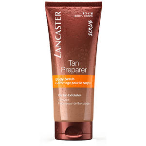 Lancaster Sun Beauty Care Body Tan Preparer Body Scrub, 200 ml (+GRATIS Jelly Reinigungsgel Sondergröße)