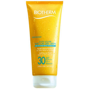 Biotherm Solaire Fluide Solaire - Wet or Dry Skin SPF 30, 200 ml