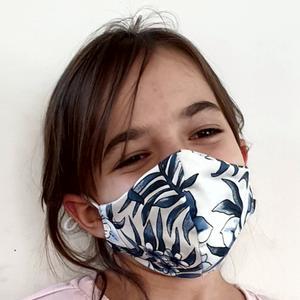 VERSTELLBARE~Nase~Mund~KINDERMASKE Baumwolle ~ 2 lagig ~ bei 60 ° waschbar ~ bügelbar ( Schutzmaske, NMS Schutz, Atemschutzmaske, MNS )