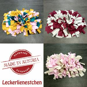 """Leckerli Nest """"KLEIN"""" für Spürnasen 20 cm x 40 cm - """"MADE IN AUSTRIA"""" by Selectcats and Dogs - bunt"""