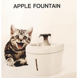 APPLE Katzen Trinkbrunnen inklusive einem Wechselfilter