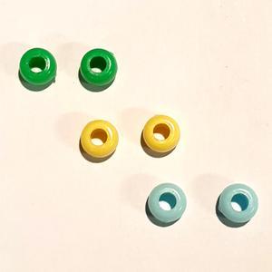 6 Stück Verstellhülsen ~ grün~gelb~blau ~ für unsere VERSTELLBAREN Nase~Mund~Masken