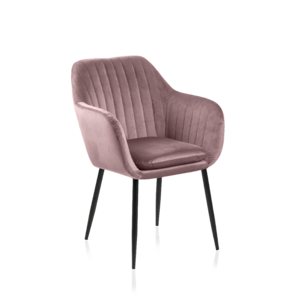 Sessel 7136 A Stoff VIC Dusty Rose