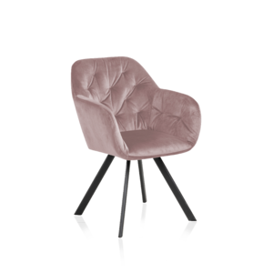Sessel 7183 A Stoff VIC Dusty Rose