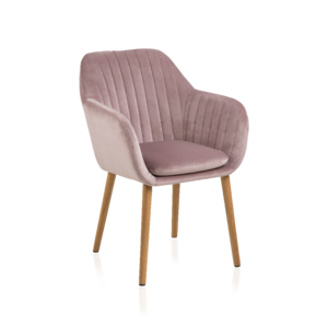 Sessel 7137 A Stoff VIC Dusty Rose
