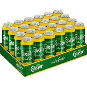 Gösser NaturRadler Zitrone Tray à 24 x 0,5 l Dose