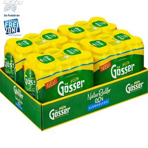 Gösser NaturRadler 0.0 % Tray à 24 x 0,5 l Dose