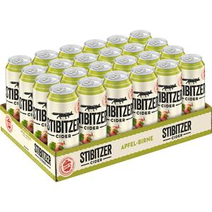 Stibitzer Cider Apfel-Birne Tray à 24 x 0,5 l Dose
