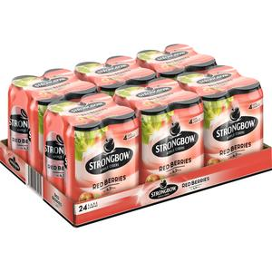 Strongbow Red Berries Tray à 24 x 0,44 l Dose