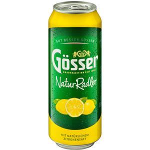 Gösser NaturRadler Zitrone Dose 0,5x24 Tray