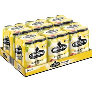 Strongbow Gold Apple Tray à 24 x 0,44 l Dose