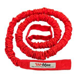 Tow-Whee Abschleppseil für Kinder flexibel, rot, für alle Größen