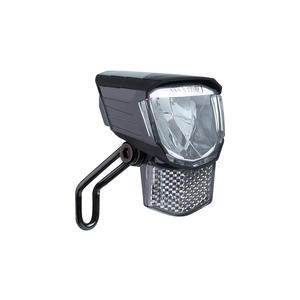 "CONTEC LED-Scheinwerfer ""HL-3000"" 45Lux, schwarz SB-verpackt, Kunststoffgehäuse, abnehmbarer Frontreflektor, inkl. Nirosta-Halter, 2018"