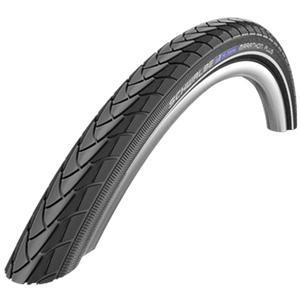 """SCHWALBE Reifen """"Marathon Plus"""" SmartGuard, HS 440, 67 EPI, Draht, Performance Line, schwarz / Reflex Unplattbar-Reifen mit deutlich 2018"""