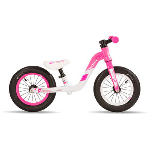 S'COOL pedex 1 pink/grey matt Laufrad - Kinderlaufrad