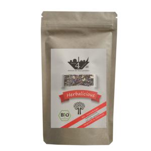 G4J Herbalicious BIO-Tee, 50g Zip-Beutel