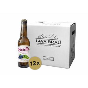 12er Karton Bio Lava Bräu BIERELLA 0,33l