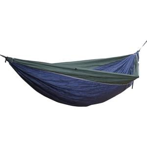 Hideaway Camper Reisehängematte blau grün inklusive Montagematerial