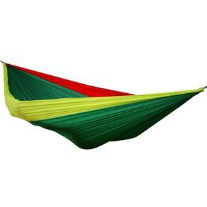 OffRoad Doppel Reisehängematte Rot Grün Gelb Jamaica