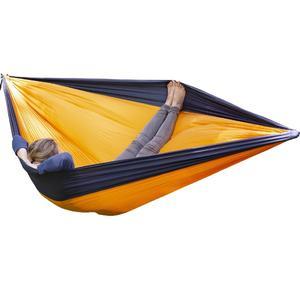 OffRoad Doppel Reisehängematte orange schwarz