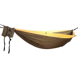 Hideaway Camper Double Gold / Khaki / Gold inklusive Baumgurte