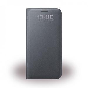 Samsung EF-NG930PB LED View Book Cover schwarz Samsung G930F Galaxy S7