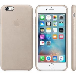 Originalverpackt Apple MKXE2ZM/A Leder Cover Hülle für iPhone 6s+ Plus - Rose Grau