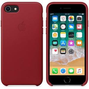 Originalverpackung Apple MMY62ZM/A echt Leder Cover für iPhone 7/8 in Rot