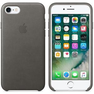 Apple MMY12ZM/A echt Leder Cover für iPhone 7/8 in Sturmgrau