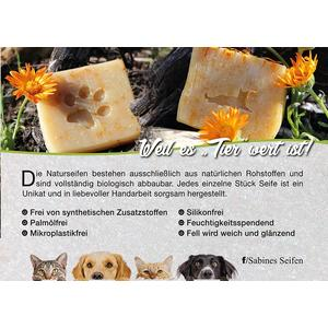Hunde - Tierseife Palmölfrei